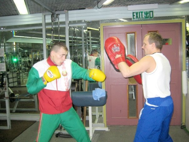 Valent & Coach Evgeni Dobrotvorski