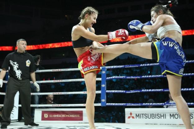 Вандарьева в атаке