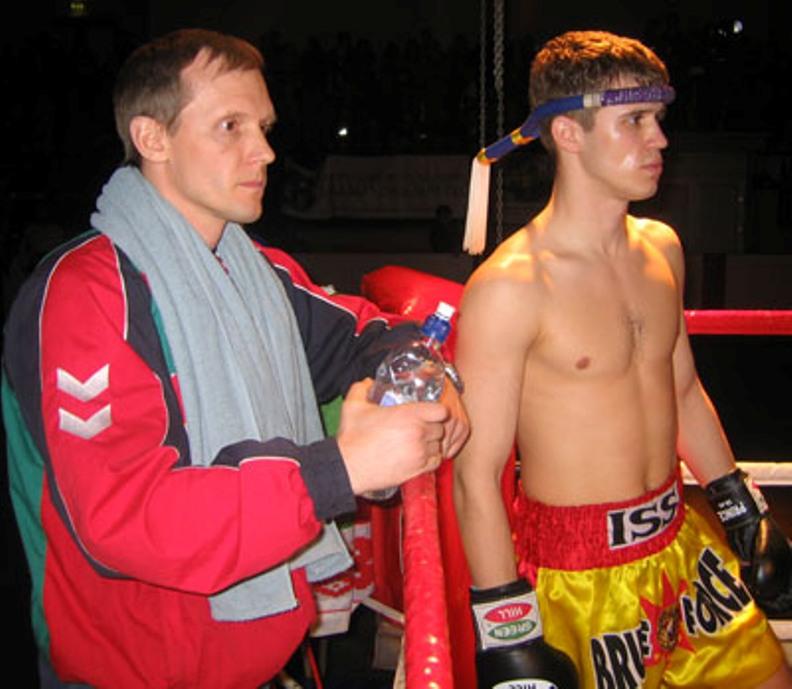 Kotsur & Coach Evgeni Dobrotvorski