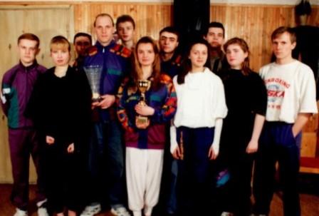 1st team Kick Fighter Gym 1992