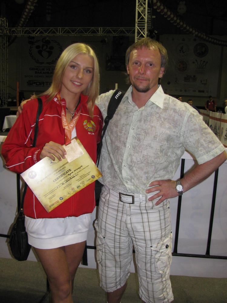 Vandarieva & Coach Evgeni Dobrotvorski