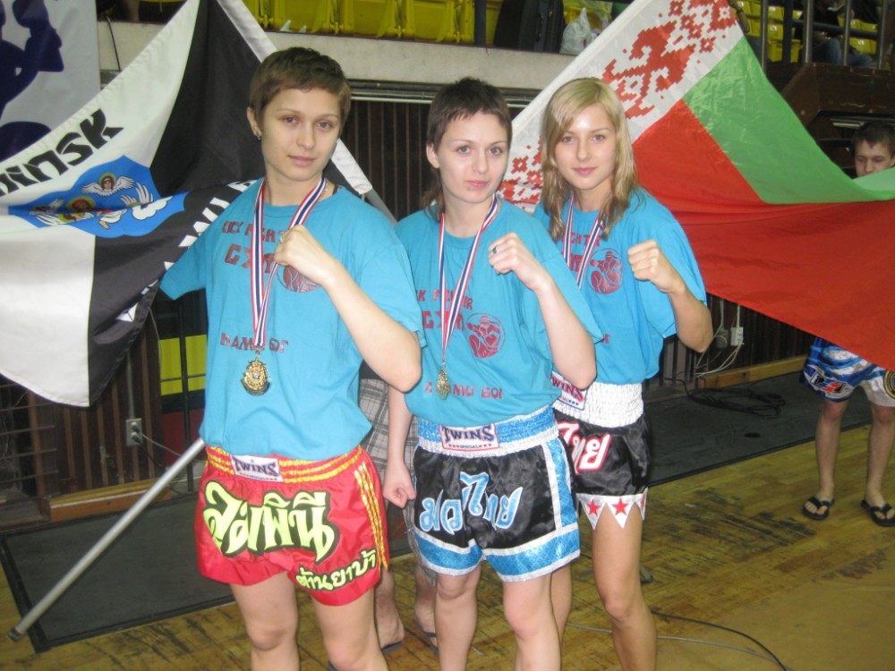 3 Gold WMF 2009 from Kick Fighter Gym