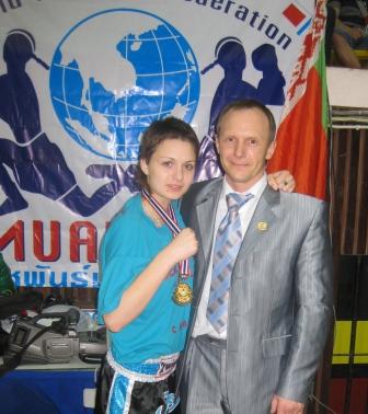 Izotova & Coach Evgeni Dobrotvorski