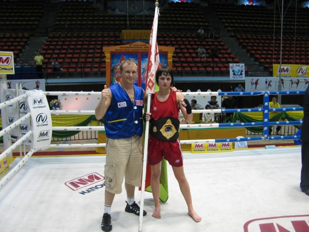 Izotova & Coach Evgeni Dobrotvorski 2010