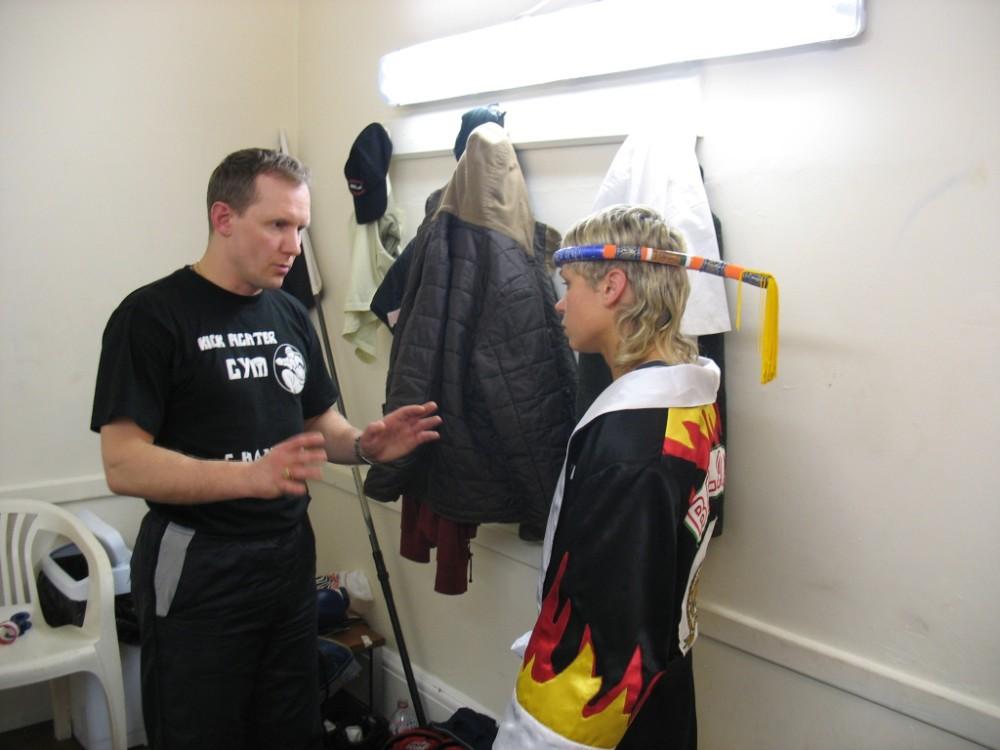 Kuchinskaya & Coach Evgeni Dobrotvorski