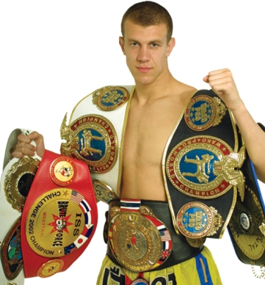 12 time World champion Dmitry Shakuta