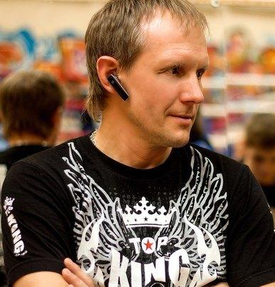 Coach Evgeni Dobrotvorski