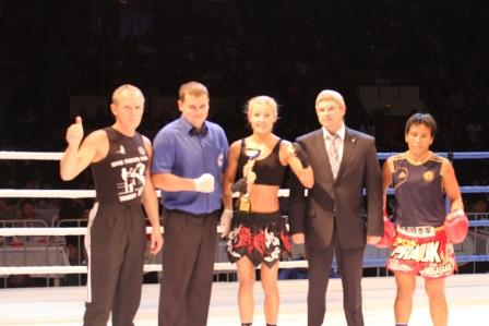 Ekaterina Vandarieva win Nuansian