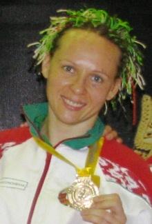 Марина чемпионка