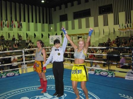 Катя Вандарьева - чемпионка