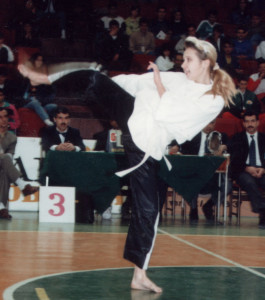Наталья бордиян на ЧЕ 1992г.