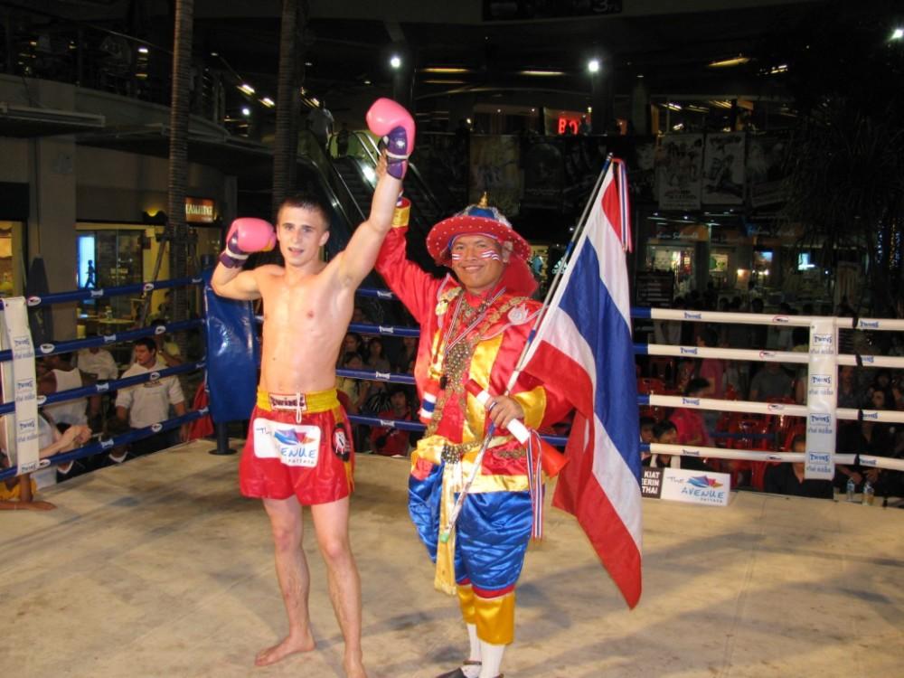 Первая победа в Таиланде по профи