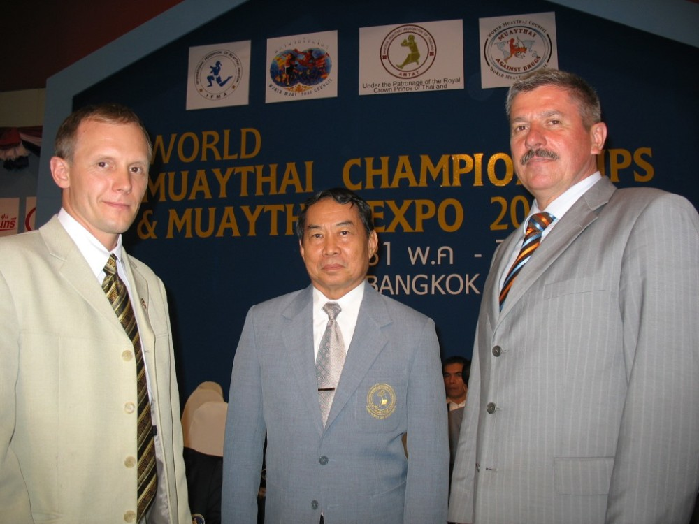 Президент WMC в центре