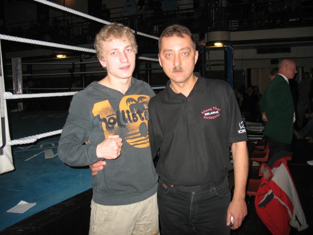 Варакса и первый тренер Нарваткин