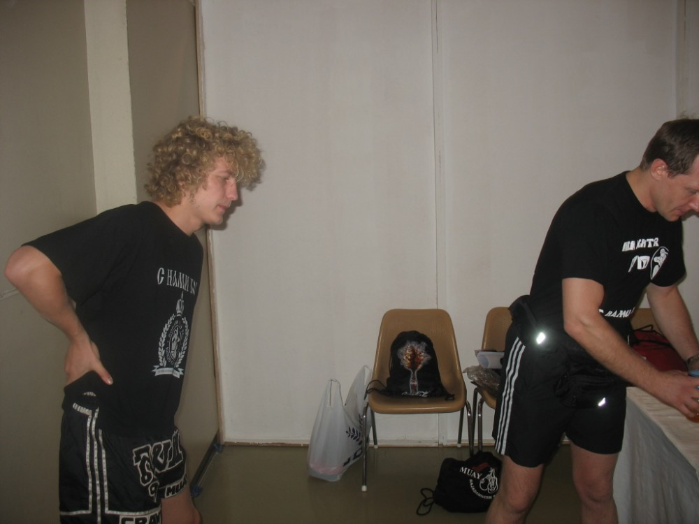 Варакса Денис и тренер