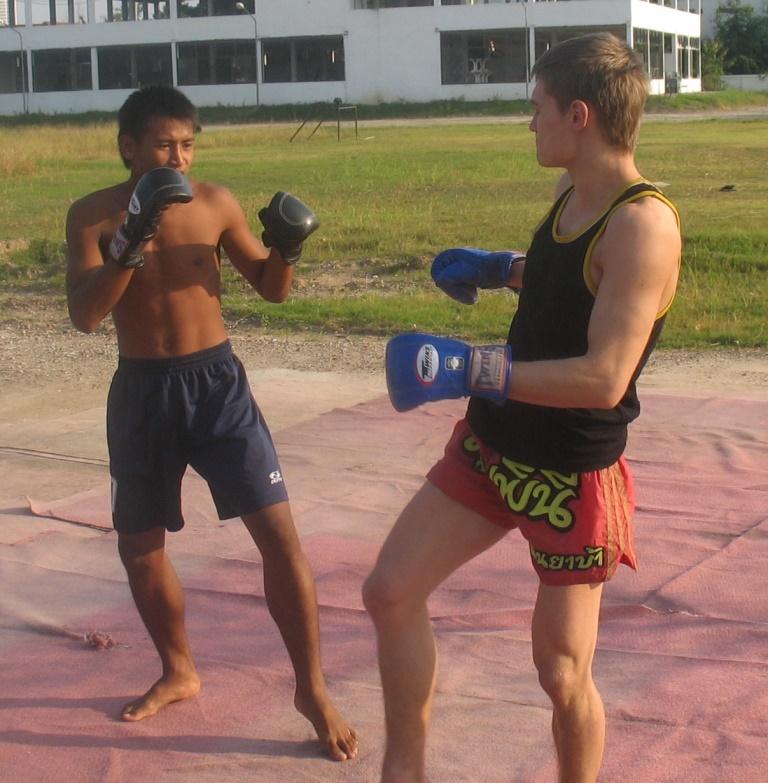 в тайском лагере