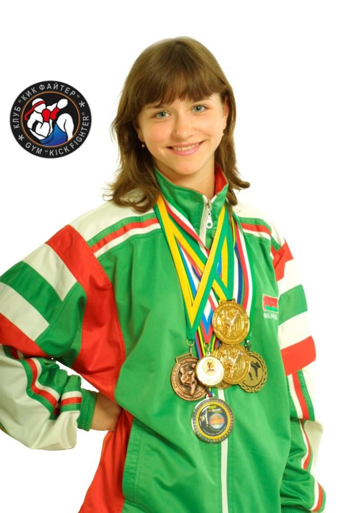 Маша Пекарчик - чемпионка мира