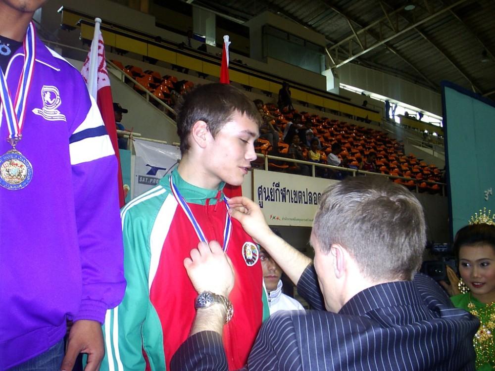 Паша Пекарчик - призёр ЧМ