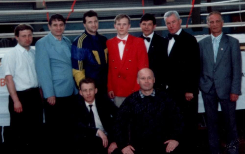 Судьи и представители на Чемпионате СНГ по Муай Тай