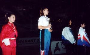 Машаро Д. чемпионка мира