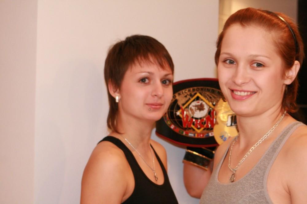 две чемпионки