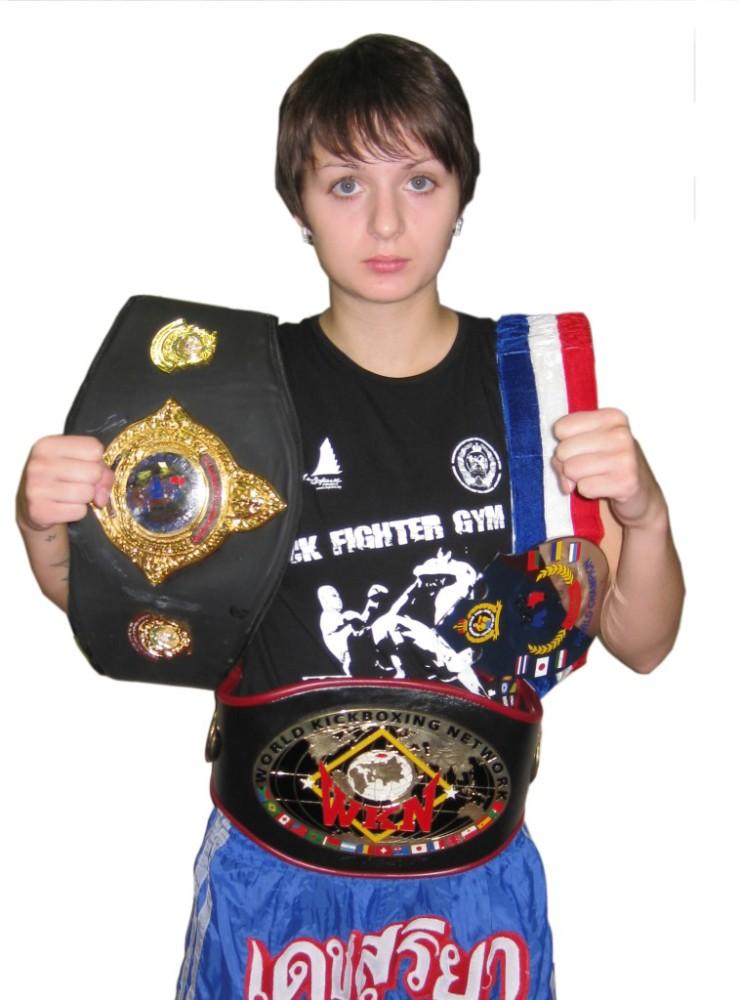 Изотова Катя - чемпионка мира и Европы