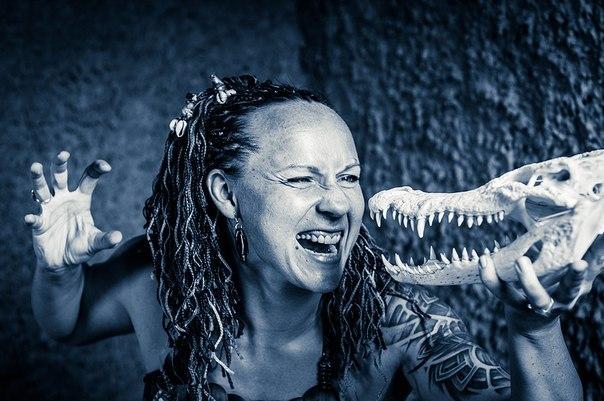 Покорительница крокодилов