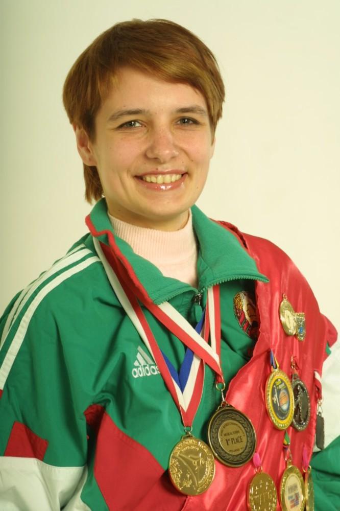 Трёхкратная чемпионка мира