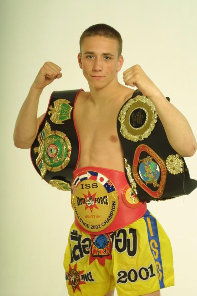 Чемпион мира Алексей Пекарчик