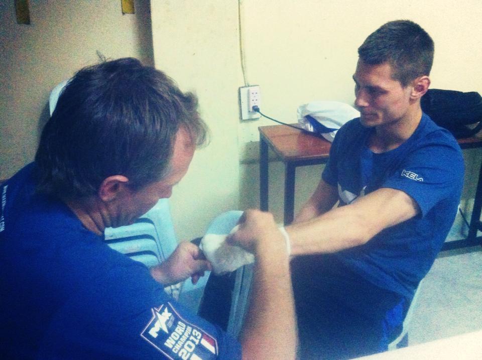 тренер и Андрей