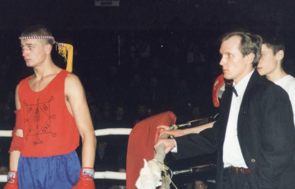 Чигилейчик ЧЕ 1997 и тренер