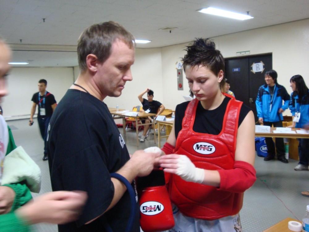 Катя в Корее 2008 Всемирные игры