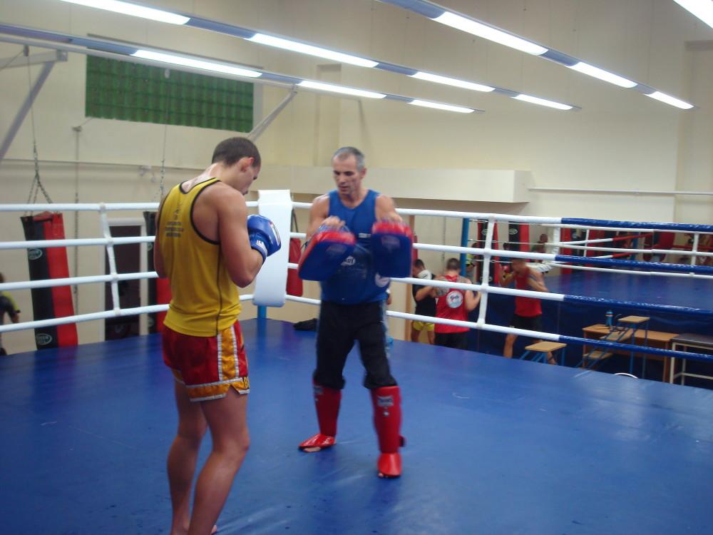 Валент Д. и тренер Варакса Ю.