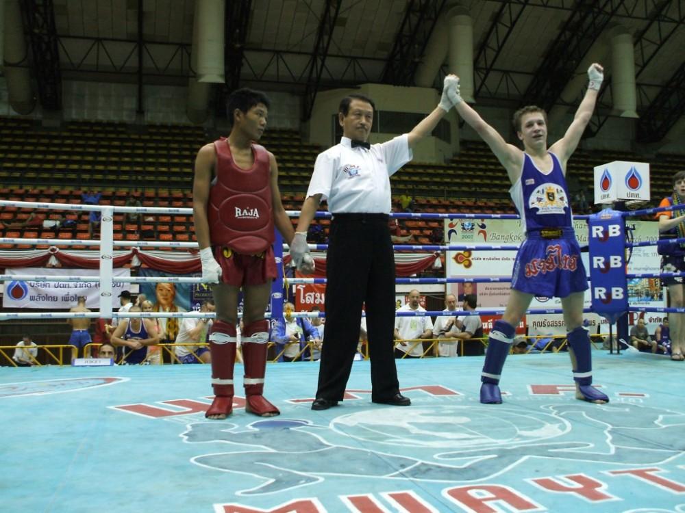 Победа над тайцем на первенстве мира