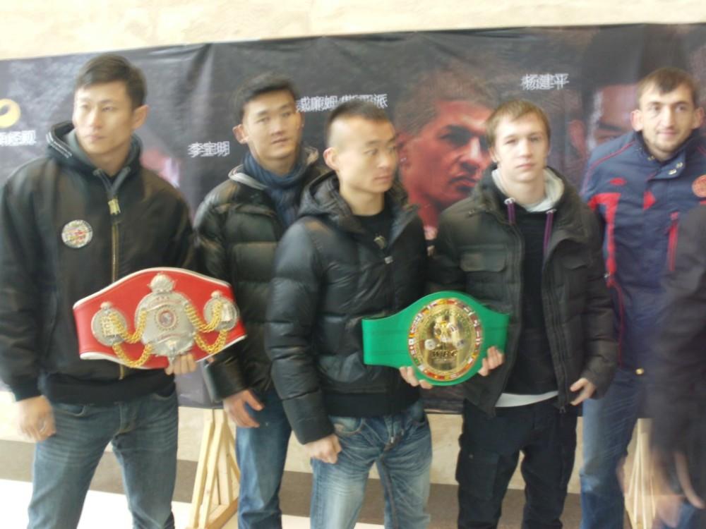 В Китае перед боем