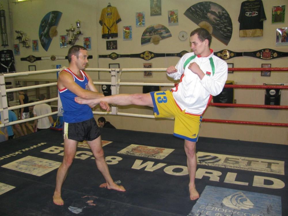 Тренировка с чемпионом мира