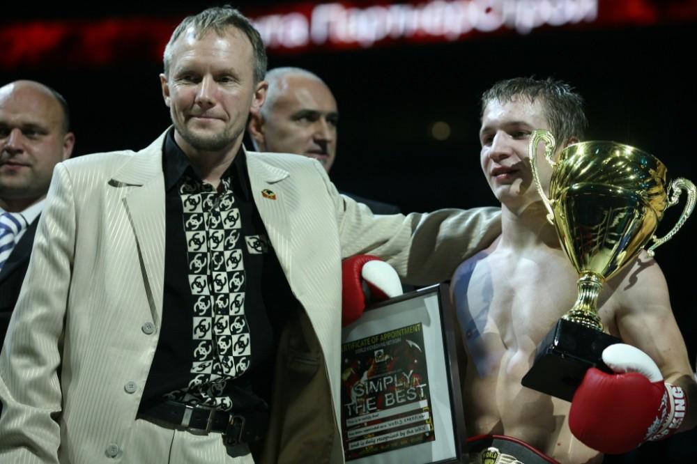 Тренер и Заяц А. чемпион мира