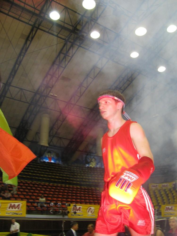 Андрей Заяц на чемпионате мира