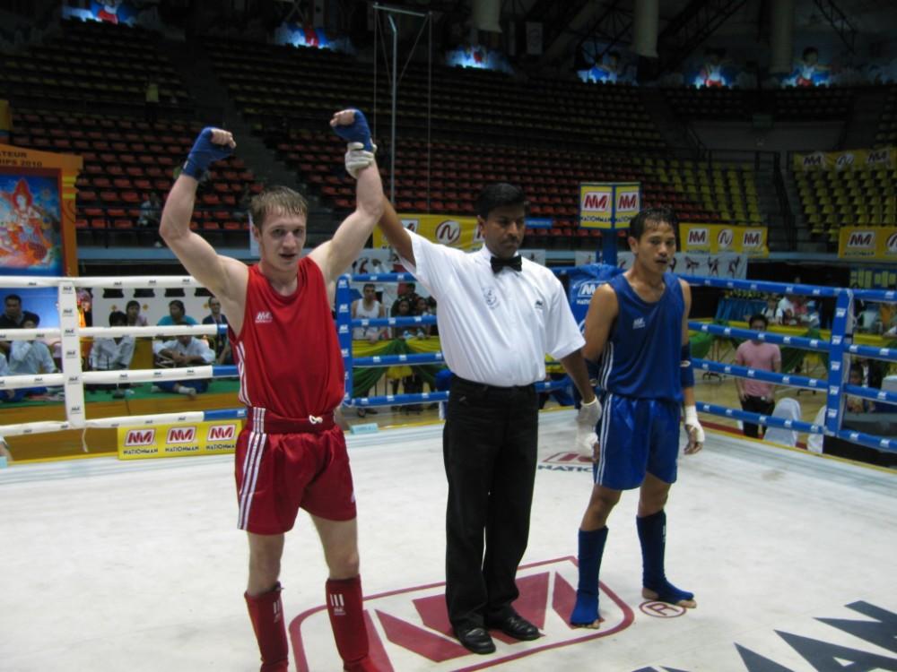 Андрей - чемпион мира WMF