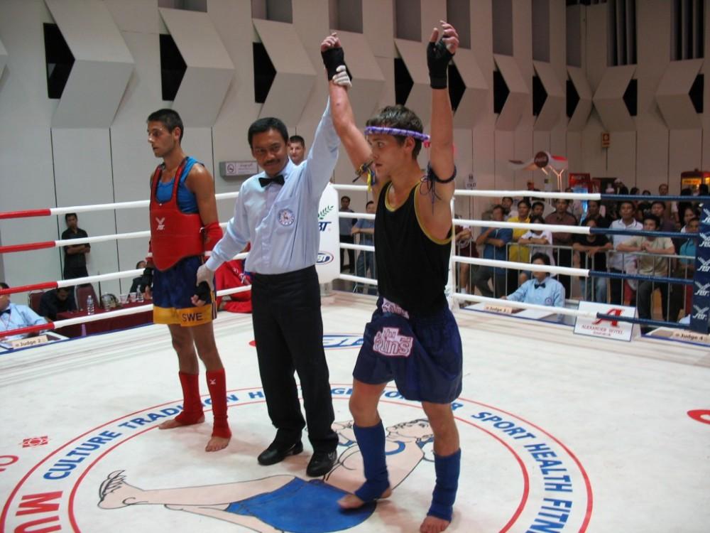 Победа на ЧМ Таиланд 2007