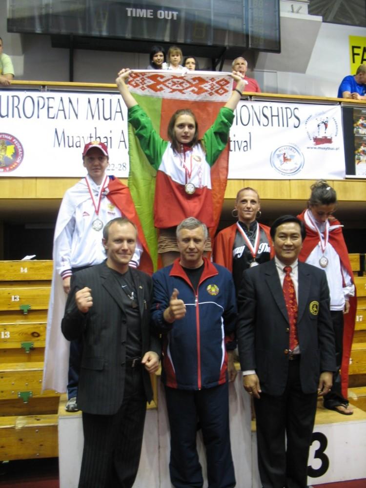 Катя - чемпионка Европы
