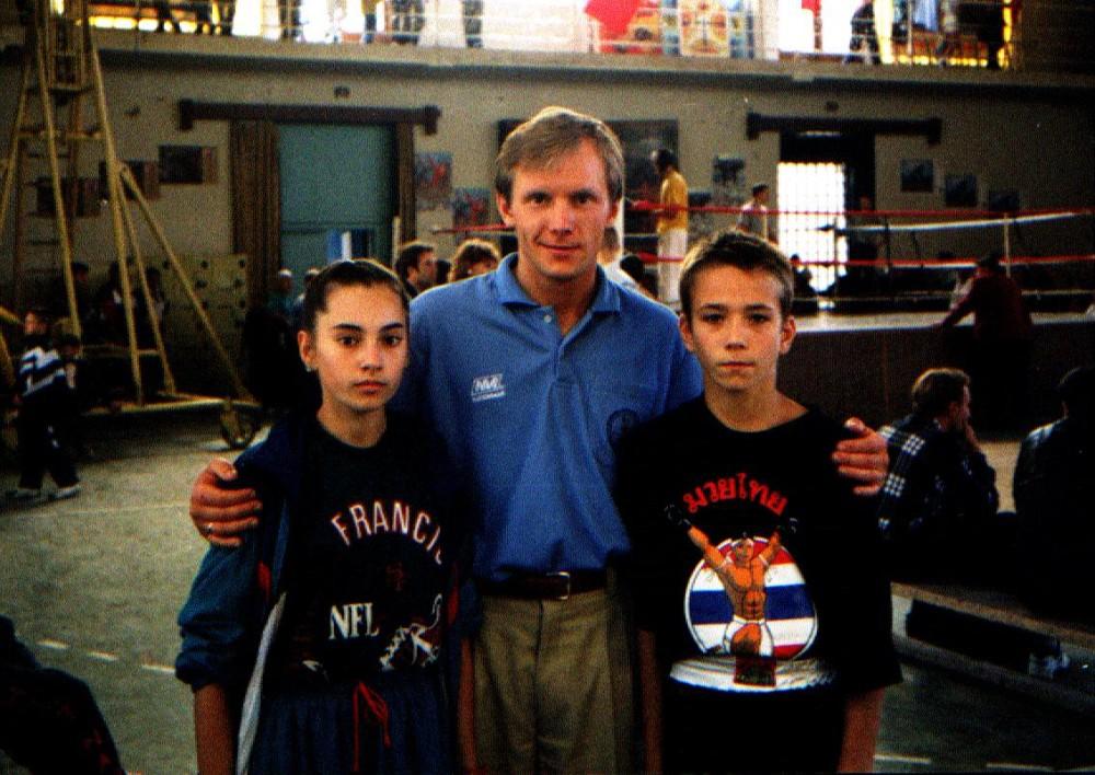 В Севастополе с тренером