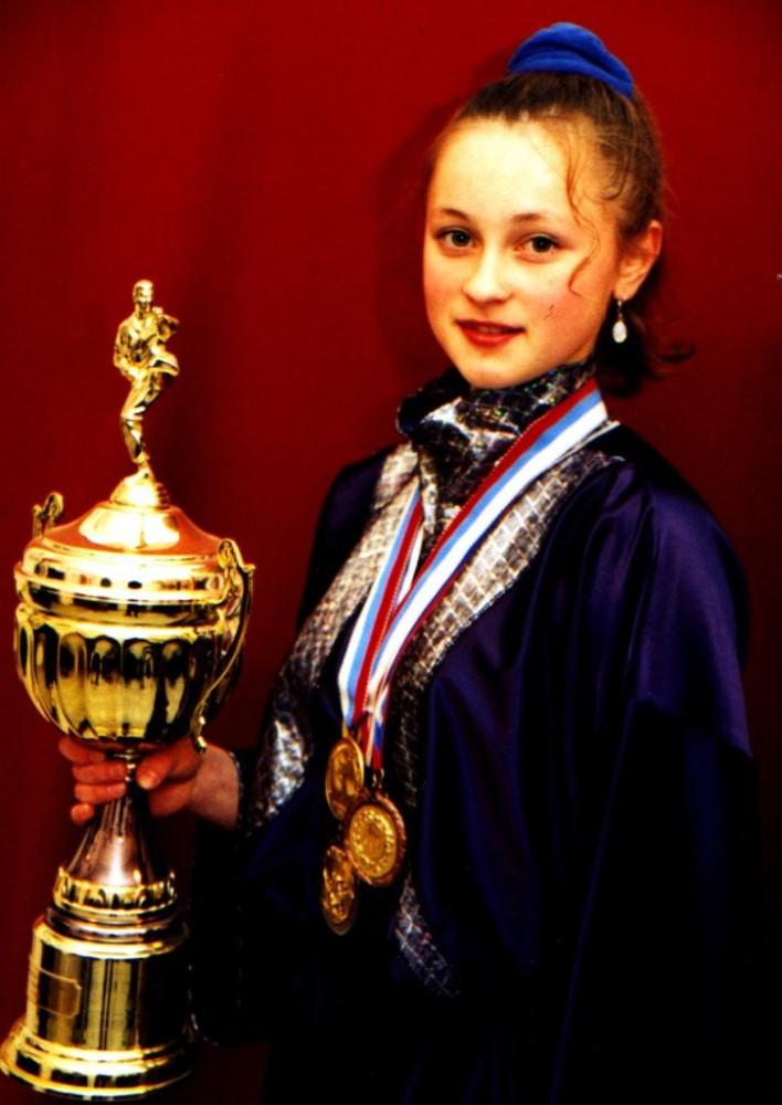 Чемпионка Европы в Киеве 1998