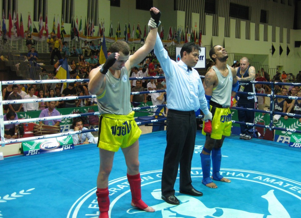 Valent win fighter from USA by Ko