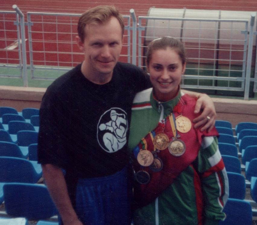 С Бусыгиной М. - чемпионкой мира