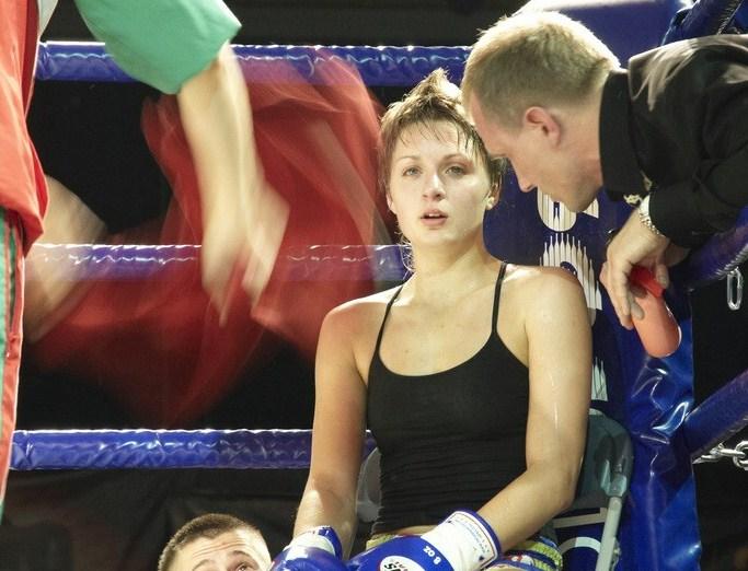 Катя и тренер
