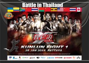 battle in Thailand
