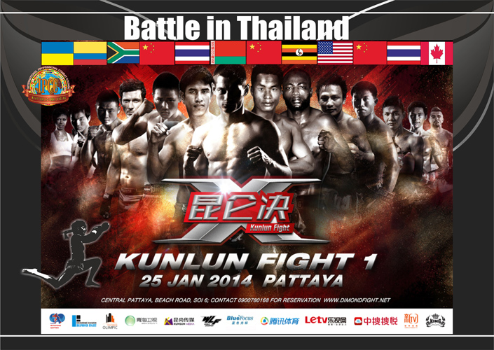 battle in Thailand